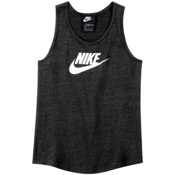 Ruhák Fiú Rövid ujjú pólók Nike Sportswear Fekete