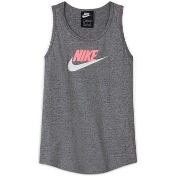 Ruhák Lány Trikók / Ujjatlan pólók Nike Sportswear Szürke