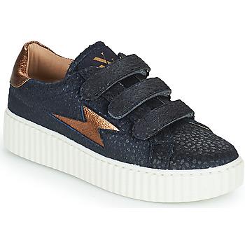 Cipők Női Rövid szárú edzőcipők Vanessa Wu MISTRAL Kék