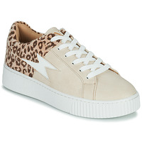 Cipők Női Rövid szárú edzőcipők Vanessa Wu VENDAVEL Bézs / Leopárd