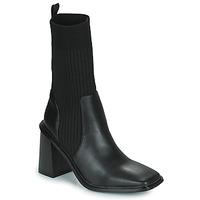 Cipők Női Bokacsizmák Vanessa Wu SIMOUN Fekete