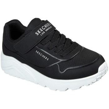 Cipők Gyerek Rövid szárú edzőcipők Skechers Uno Lite Vendox Fekete