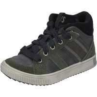 Cipők Fiú Magas szárú edzőcipők California Xboys  Zöld