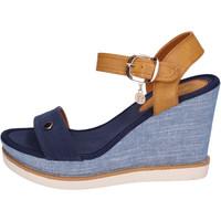 Cipők Női Szandálok / Saruk Enrico Coveri BH490 Kék