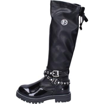 Cipők Lány Combcsizmák Laura Biagiotti  Fekete