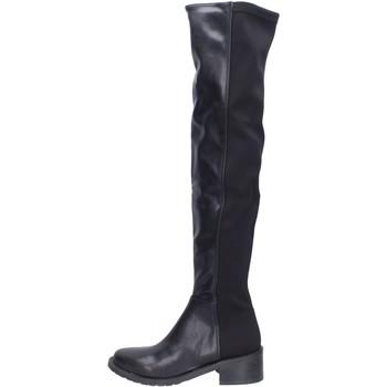 Cipők Női Combcsizmák Olga Rubini BH523 Fekete
