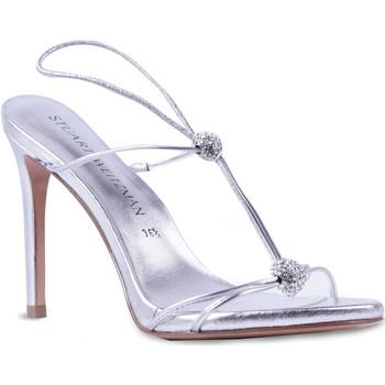 Cipők Női Szandálok / Saruk Stuart Weitzman VL09249 argento