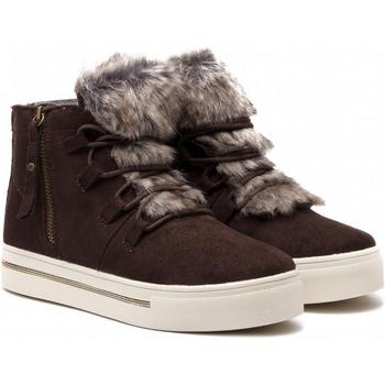 Cipők Női Magas szárú edzőcipők Xti 48551 MARRON Marrón oscuro