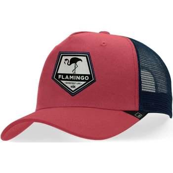 Textil kiegészítők Baseball sapkák Hanukeii Flamingo Piros