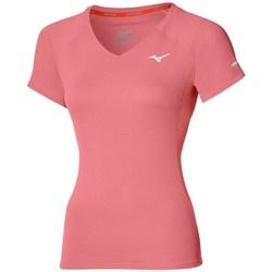 Ruhák Női Rövid ujjú pólók Mizuno Drylite Tee W Rózsaszín