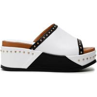 Cipők Női Papucsok Café Noir HH1360 Fehér