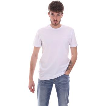 Ruhák Férfi Rövid ujjú pólók Antony Morato MMKS01855 FA120022 Fehér