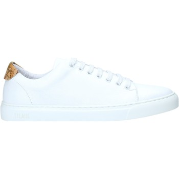 Cipők Férfi Rövid szárú edzőcipők Alviero Martini P172 578A Fehér
