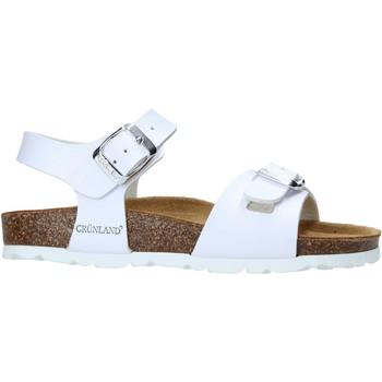 Cipők Gyerek Szandálok / Saruk Grunland SB1569 Fehér