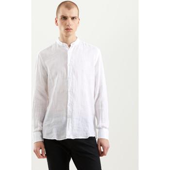 Ruhák Férfi Hosszú ujjú ingek Refrigiwear RM0C10100LI9110 Fehér