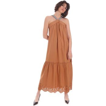 Ruhák Női Hosszú ruhák Gaudi 111FD15012 Barna