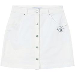 Ruhák Női Szoknyák Calvin Klein Jeans J20J215720 Fehér
