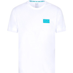 Ruhák Férfi Rövid ujjú pólók Ea7 Emporio Armani 3KPT50 PJAMZ Fehér