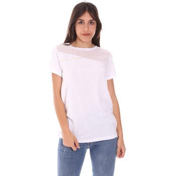 Ruhák Női Rövid ujjú pólók Ea7 Emporio Armani 3KTT34 TJ4PZ Fehér