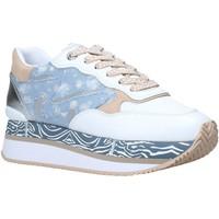 Cipők Női Rövid szárú edzőcipők Manila Grace S659LM Fehér