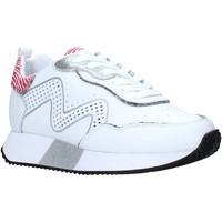 Cipők Női Rövid szárú edzőcipők Manila Grace S673LU Fehér