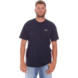 Ruhák Férfi Rövid ujjú pólók Ea7 Emporio Armani 3KPT13 PJ02Z Kék