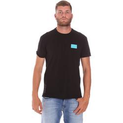 Ruhák Férfi Rövid ujjú pólók Ea7 Emporio Armani 3KPT50 PJAMZ Fekete