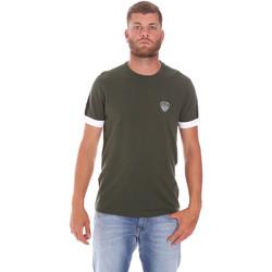 Ruhák Férfi Rövid ujjú pólók Ea7 Emporio Armani 3KPT56 PJ4MZ Zöld