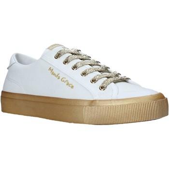 Cipők Női Rövid szárú edzőcipők Manila Grace S634CU Fehér