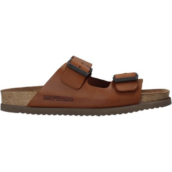 Cipők Férfi Papucsok Mephisto P5113700 Barna