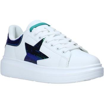 Cipők Női Rövid szárú edzőcipők Shop Art SA050110 Fehér