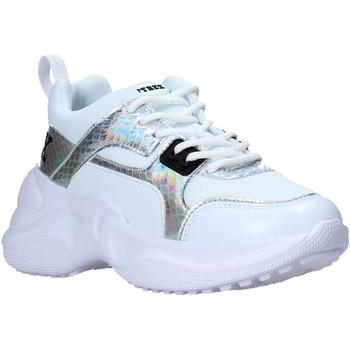 Cipők Női Rövid szárú edzőcipők Pyrex PY050123 Fehér