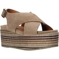 Cipők Női Szandálok / Saruk Onyx S20-SOX753 Barna
