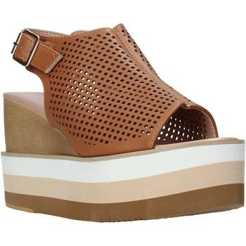 Cipők Női Szandálok / Saruk Onyx S20-SOX757 Barna