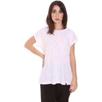 Ruhák Női Rövid ujjú pólók Lumberjack CW60343 011EU Fehér