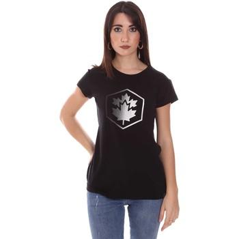 Ruhák Női Rövid ujjú pólók Lumberjack CW60343 015EU Fekete