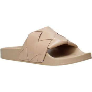 Cipők Női strandpapucsok Gold&gold A21 FL150 Bézs