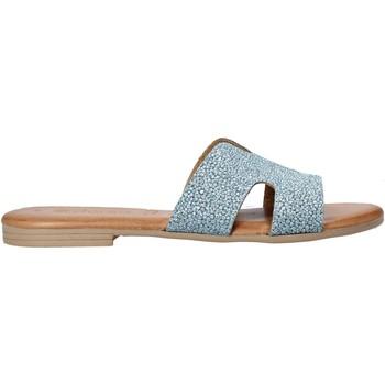 Cipők Női Papucsok Dorea MH103 Kék