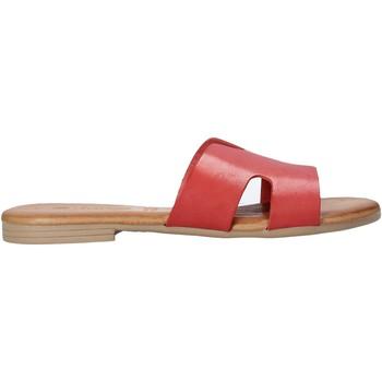 Cipők Női Papucsok Dorea MH102 Piros
