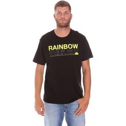 Ruhák Férfi Rövid ujjú pólók Sundek M058TEJ7800 Fekete