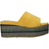 Cipők Női Papucsok Onyx S20-SOX751 Sárga