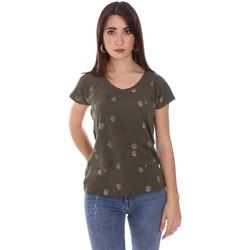 Ruhák Női Rövid ujjú pólók Lumberjack CW60343 013EU Zöld