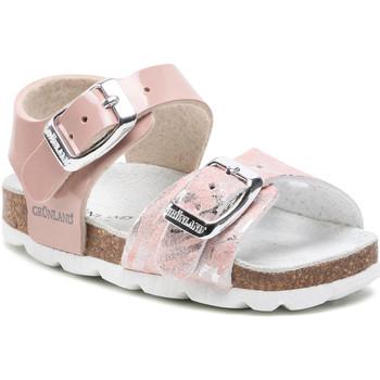 Cipők Lány Szandálok / Saruk Grunland SB1664 Rózsaszín