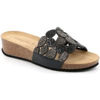 Cipők Női Papucsok Grunland CB2488 Fekete