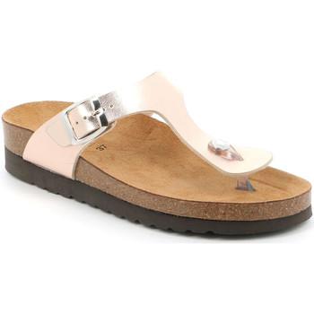Cipők Női Lábujjközös papucsok Grunland CB2430 Rózsaszín