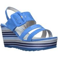 Cipők Női Szandálok / Saruk Marco Tozzi 2-2-28336-26 Kék