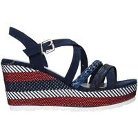 Cipők Női Szandálok / Saruk Marco Tozzi 2-2-28375-26 Kék