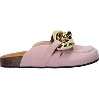 Cipők Női Gyékény talpú cipők Gold&gold A21 FL161 Rózsaszín