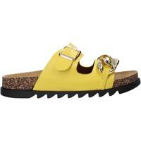 Cipők Női Papucsok Gold&gold A21 FL160 Sárga