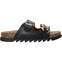 Cipők Női Papucsok Gold&gold A21 FL160 Fekete